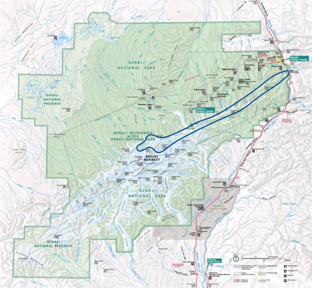Scenic Air Tours Denali National Park Tour