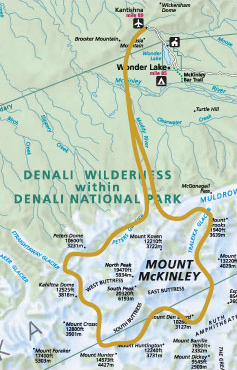 The Grand Ascent Mt Mckinley Flightseeing Tour Alaska Glacier Tours - Mount mckinley on us map